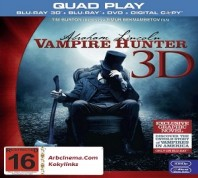 فلم Abraham Lincoln Vampire Hunter 2012 مترجم بنسخة BluRay